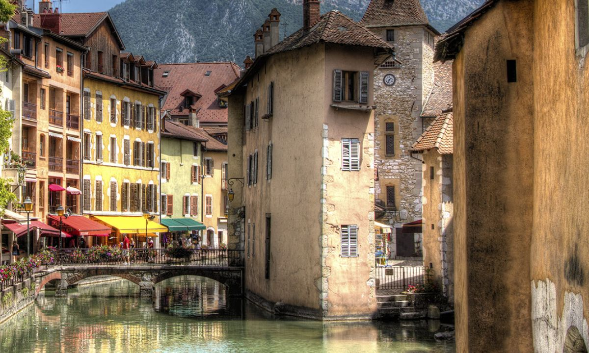 City center Annecy